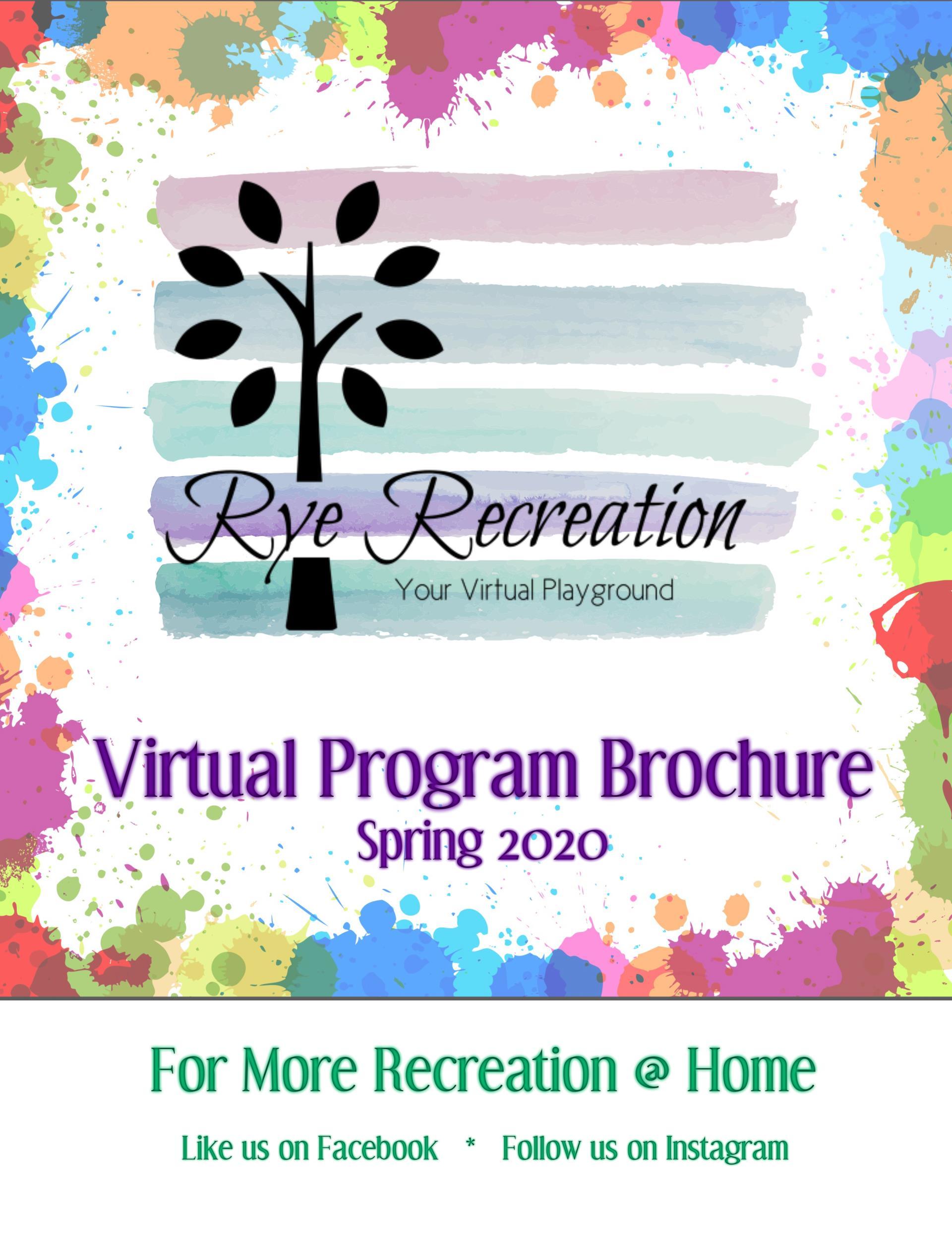 Virtual Brochure Cover Spring 2020